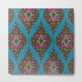 teardrop pattern Metal Print
