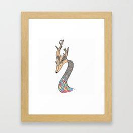 Dragon Fawn Framed Art Print