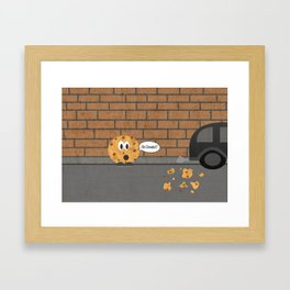 Cookie Framed Art Print