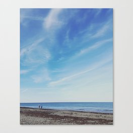 Beach Walkers Canvas Print