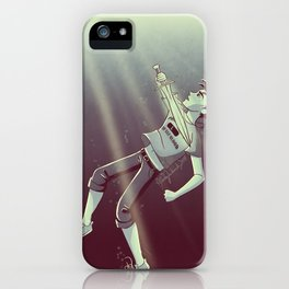 Son of the Sea God iPhone Case