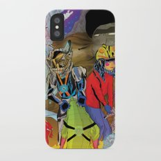 Living In a World of Monsters Slim Case iPhone X