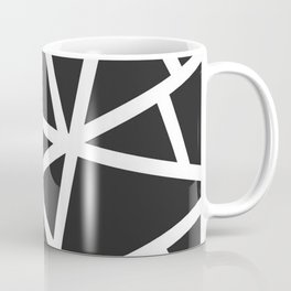 Black Earthquake Coffee Mug