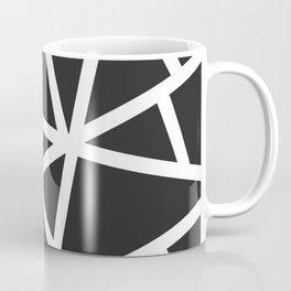 Black Earthquake Coffee Mug