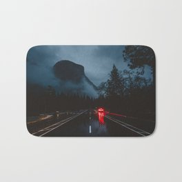 Yosemite Valley Gothic Bath Mat