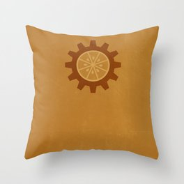 Alternative Kubrick Poster Throw Pillow