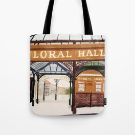 FLORAL HALL Tote Bag