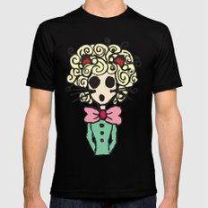 Ms Meow Mens Fitted Tee Black MEDIUM