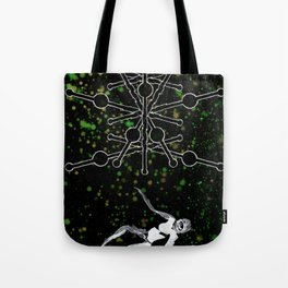 A Tarot of Ink 09 of Wands Tote Bag
