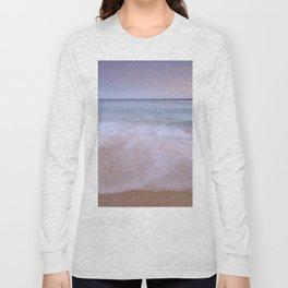 Looking at the waves....  Algarve beach Long Sleeve T-shirt