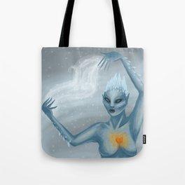 Ice Wraith Tote Bag