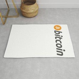 Bitcoin Logo Cryptocurrency Rug