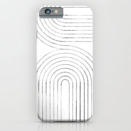 Linear arches iPhone Case