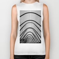 contemporary Biker Tanks featuring Contemporary Agora by Alfani Photography