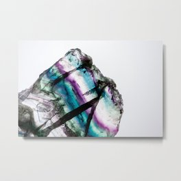 Great White Mr. Fluorite Metal Print