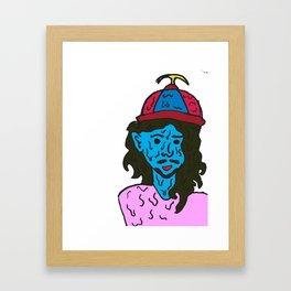 Sad Boy CRYW**K Framed Art Print