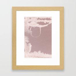 silent space_1 Framed Art Print