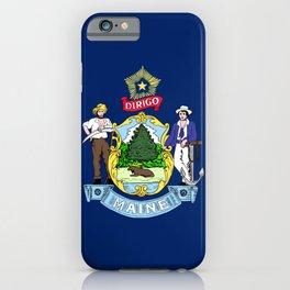 Maine iPhone Case