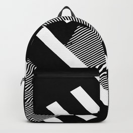 Thick Shadowed Lines Backpack