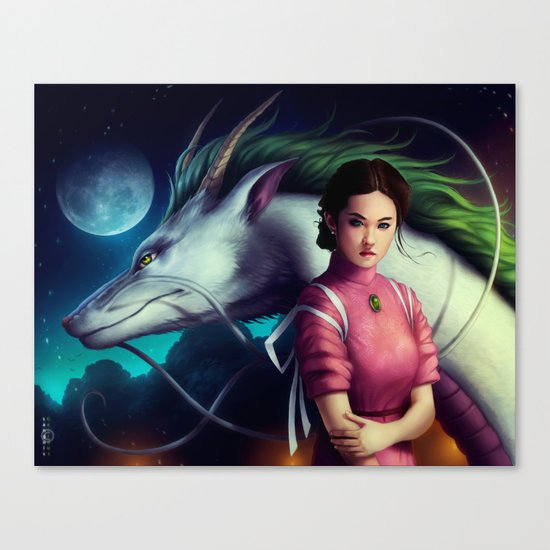 """Spirited Away"" Canvas Print"