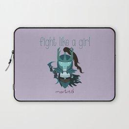 Fight Like a Girl - Dota's Phantom Assassin Laptop Sleeve