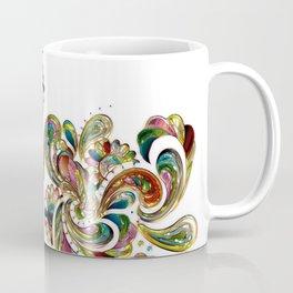 Liquid Bling Paisley Tattoo Coffee Mug
