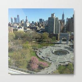 NYU Washington Square Metal Print