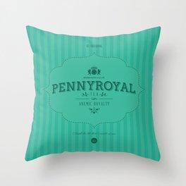 Pennyroyal Tea Throw Pillow