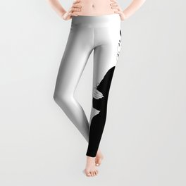 BEATNIK FUNNY FACE Leggings