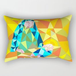 The Manger III Rectangular Pillow