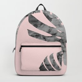 Watercolor tropical leaf V Backpack