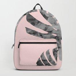 Watercolor tropical leaf V Backpack