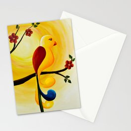 Relax Little Bird Stationery Cards