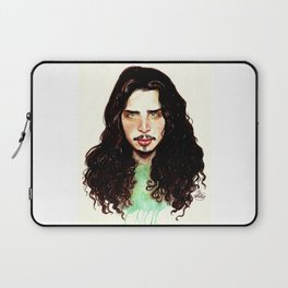 Fell on Black Days- A portrait by Indigo East Laptop Sleeve