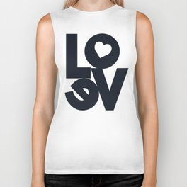 Love, tyopgraphy illustration, gift for her, people in love, be my Valentine, Romantic lettering Biker Tank