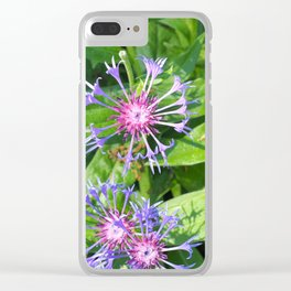 Bright fresh summer flowers Clear iPhone Case