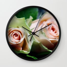 Whispering secrets Wall Clock
