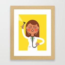 Dr. Doctor Framed Art Print