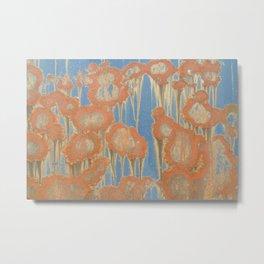 Rusty Blossoms Metal Print