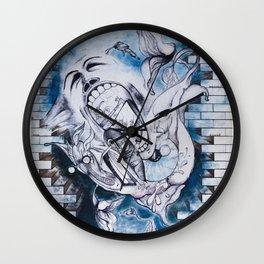 The Wall  Wall Clock