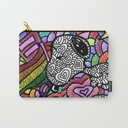 snoopy art love Carry-All Pouch