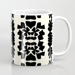 cutout shapes-black Coffee Mug
