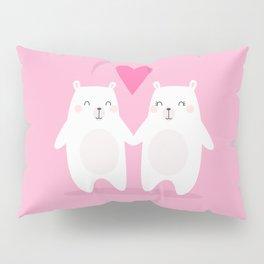 POLAR BEAR LOVE - VALENTINE'S DAY Pillow Sham