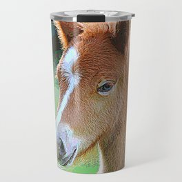 AnimalPaint_Horse_20171201_by_JAMColorsSpecial Travel Mug