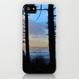 Silhouette I iPhone Case