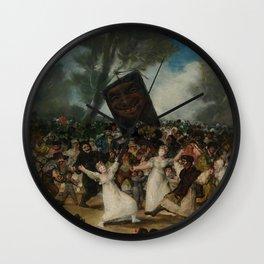 Francisco Goya - El Entierro De La Sardina Wall Clock