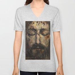 Holy Face Unisex V-Neck