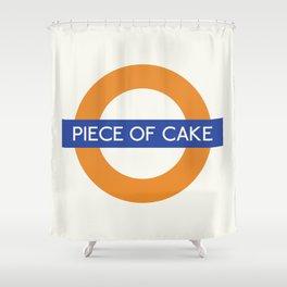 Piece Of Cake  TFL Shower Curtain