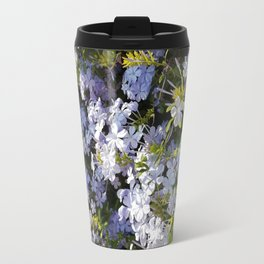 a violet flower in the heart of Athens Travel Mug