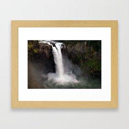 Snoqualmie  Framed Art Print